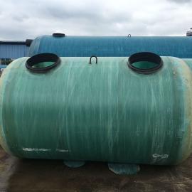 绿明辉旱厕改造隔油池20立方一体成型化粪池厂家供应