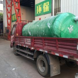绿明辉污水处理缠绕式40立方一体成型化粪池厂家供应