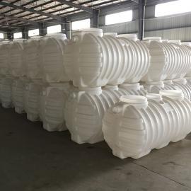 旱��改造密封0.8m3化�S池三格式塑料化�S池