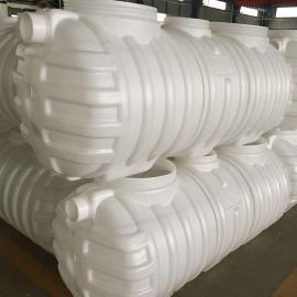 旱厕改造无缝隙0.8立方化粪池污水处理塑料化粪池