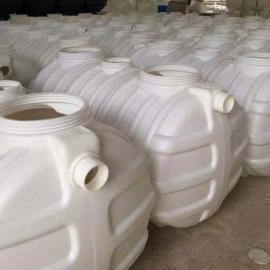 无缝隙PE1m3化粪池三格式塑料化粪池