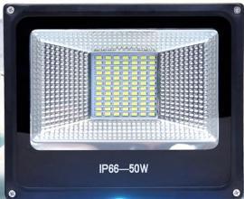 led泛光灯50W 100W防水厂房路灯 广告灯工厂吊挂支架