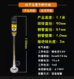 PS-A2本安型人体静电释放报警仪(语音版)