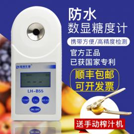 陆恒生物数显水果饮料果汁测糖仪 糖度计LH-B55 LH-B36型