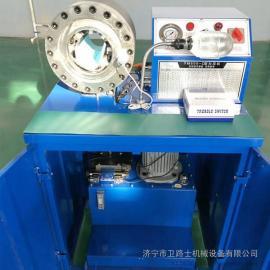 脚手架管电动缩管机 液压缩管机 高压油管扣压机