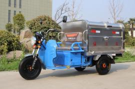 电动三轮垃圾清运保洁车1立方垃圾清运车