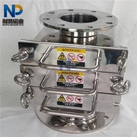 磁性过滤器 金属分离器 永磁除铁器 抽屉式除铁器