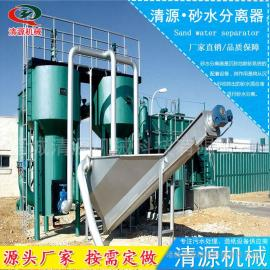 清源新式 砂水分离器 城市污水砂水分离器 质量保证