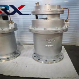 P4X-10Q球墨铸铁法兰复合式高速排气阀