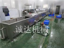诚达10米鱿鱼漂烫设备