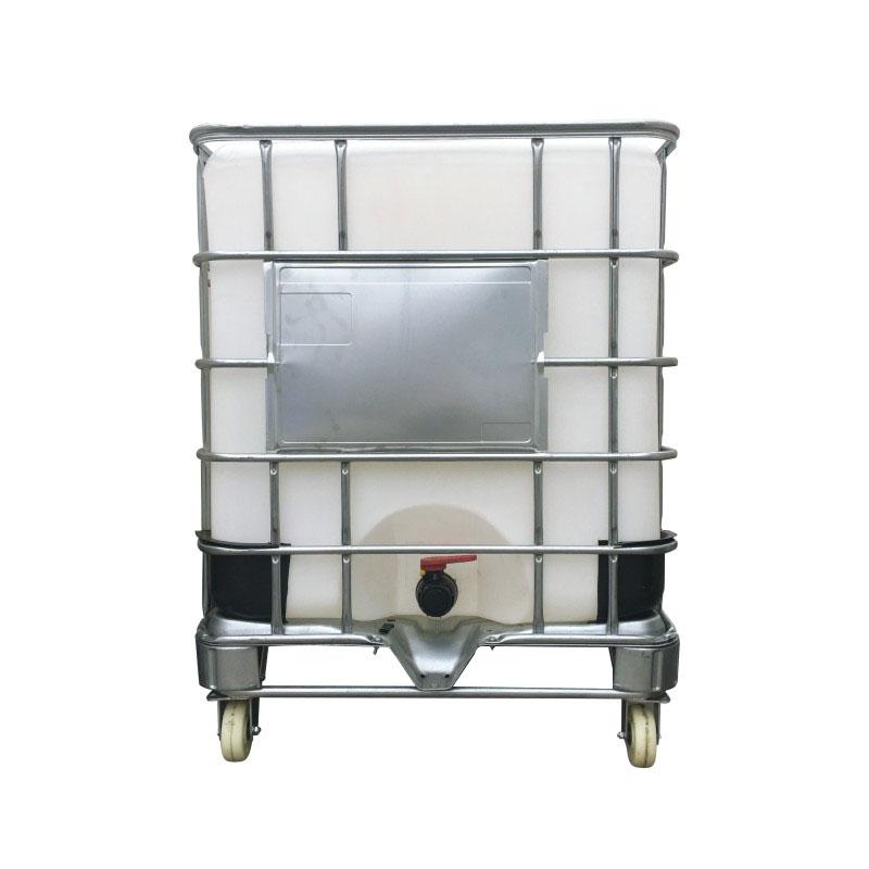 1000L化工吨桶全新大口径塑料桶耐酸碱包装桶产地货源