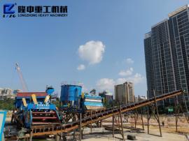 大型洗砂机械型号 洗砂机械生产商 隆中*砂石厂生产线设备