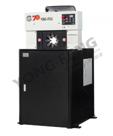 Y160超薄扣压机、压管机、缩管机。整机质保三年