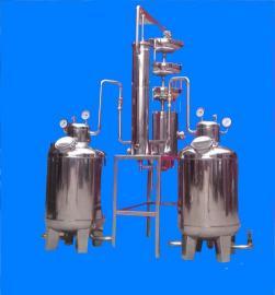 电加热酿酒蒸馏器 石榴酒蒸馏机组