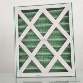 纸框空气过滤器 初效纸壳复合网板式过滤器