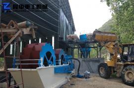 大型洗砂设备型号 洗砂设备生产商 隆中*砂石厂生产线设备