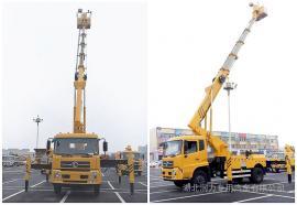 直臂24米高空作业车工作斗可旋转