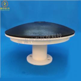 污水处理215mm橡胶膜片微孔曝气器 生物滤池专用平板曝气器