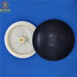 污水处理300mm微孔曝气器 好氧池膜片式曝气头