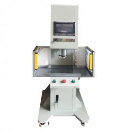 伺服压力压装机 轴承精密压装单柱压力机