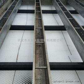 沉淀池出水端用不锈钢集水槽—现场安装技术支持