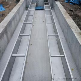*定制不锈钢集水槽—收集溢面清水304不锈钢孔式集水槽
