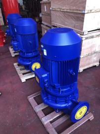 ISG立式管道泵空调IRG热水循环泵单级单吸管道离心泵水泵