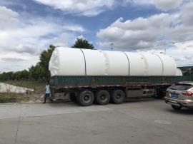 30立方立式圆柱形减水剂塑料储罐30吨30000Lpe耐酸碱水箱