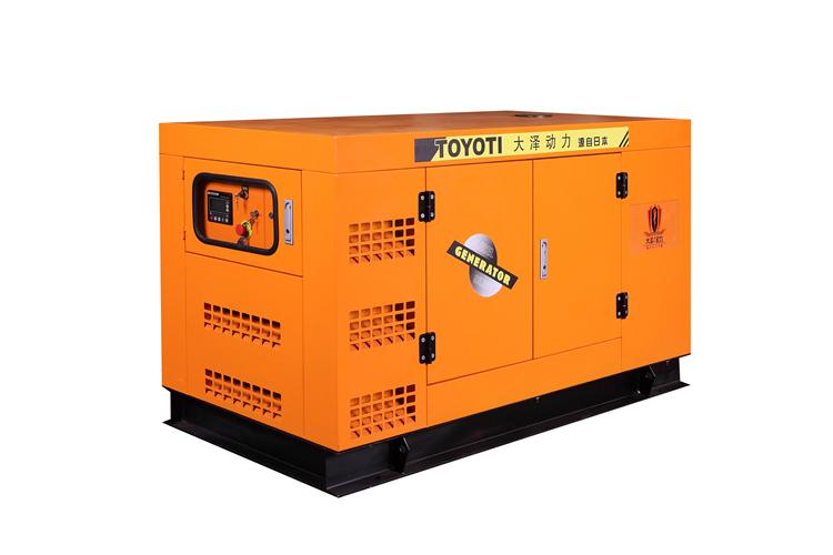 遥控静音25kw柴油发电机TO28000ET