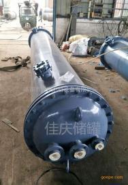 定制φ300-3000mm钢衬塑离子交换柱