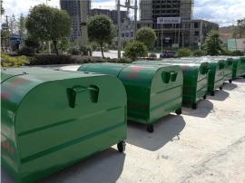 3方移动式垃圾箱勾臂箱