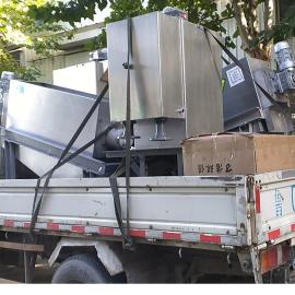 叠螺式污泥脱水机生产定制 不锈钢叠螺污泥脱水机