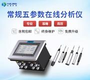 在线水质常规五参数分析仪HJ-0205型