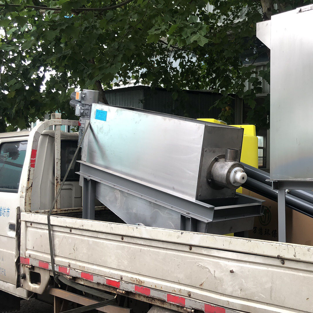 403叠螺污泥脱水压滤机 污水压滤机压泥机