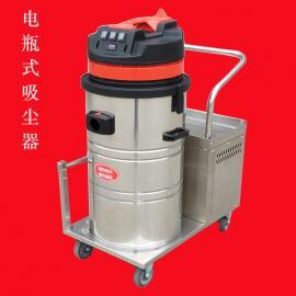 大型仓库水泥地面用移动式无线吸尘器电瓶式工业吸尘器DK1580