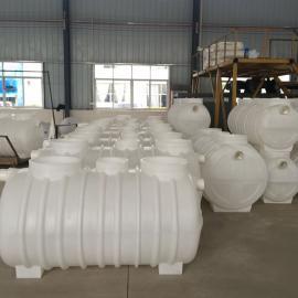 耐腐蚀PE0.8m3化粪池一体成型化粪池