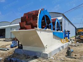 矿山设备常用洗砂机 矿山设备常用洗沙机