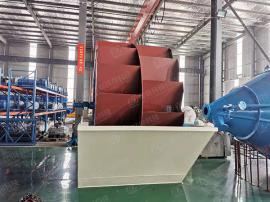 隆鼎XSD叶轮洗砂机时产100吨达标