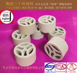 陶瓷三Y环 三Y环瓷质填料 精填牌金达莱