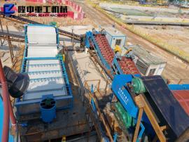 洗砂生产线污泥处理 隆中洗砂机设备