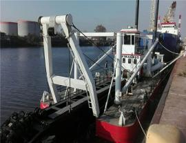 疏浚挖泥船-绞吸式挖泥船工作图片