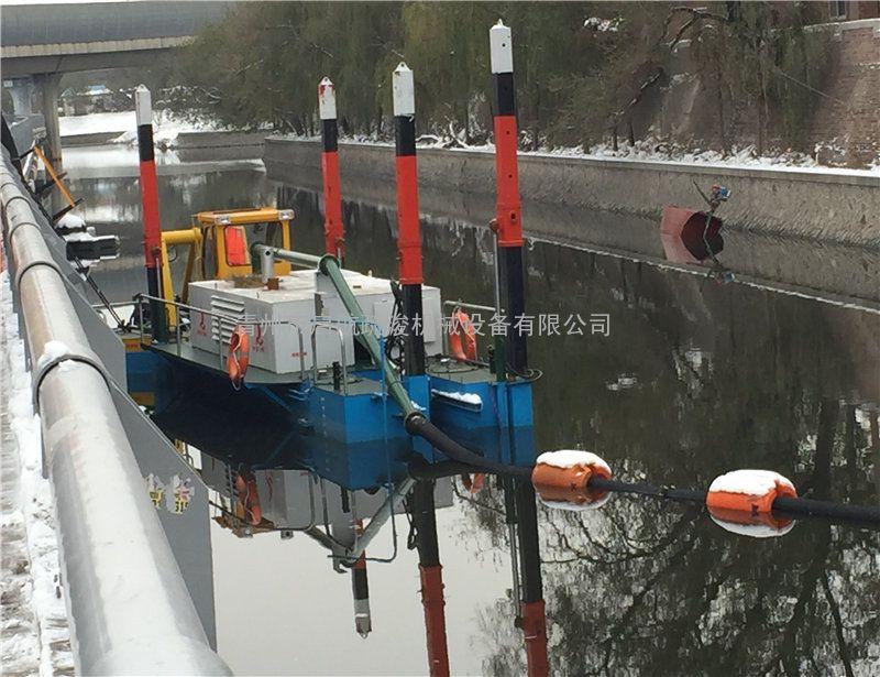 河道清淤船每小时工作量丨绞吸式清淤船-启航疏浚