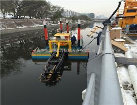 8寸绞吸式挖泥船出口-启航疏浚(图)-挖泥船图片