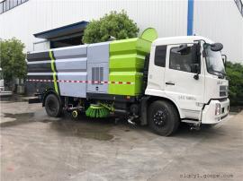 洗扫车18吨干湿两用扫路车生产工厂