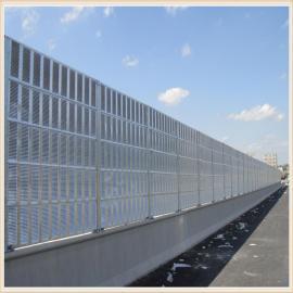 桥上安装声屏障 声屏障高架桥隔音 降噪隔音屏生产