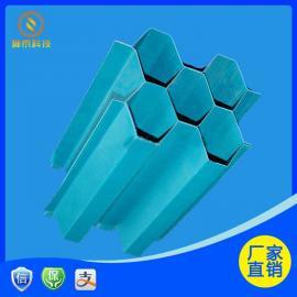 ST 玻璃钢斜管填料沉淀池分几个区域 35mm、50mm、80mm