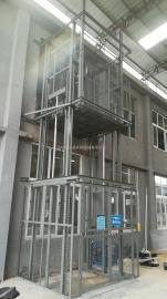 1-4楼导轨式液压升降机