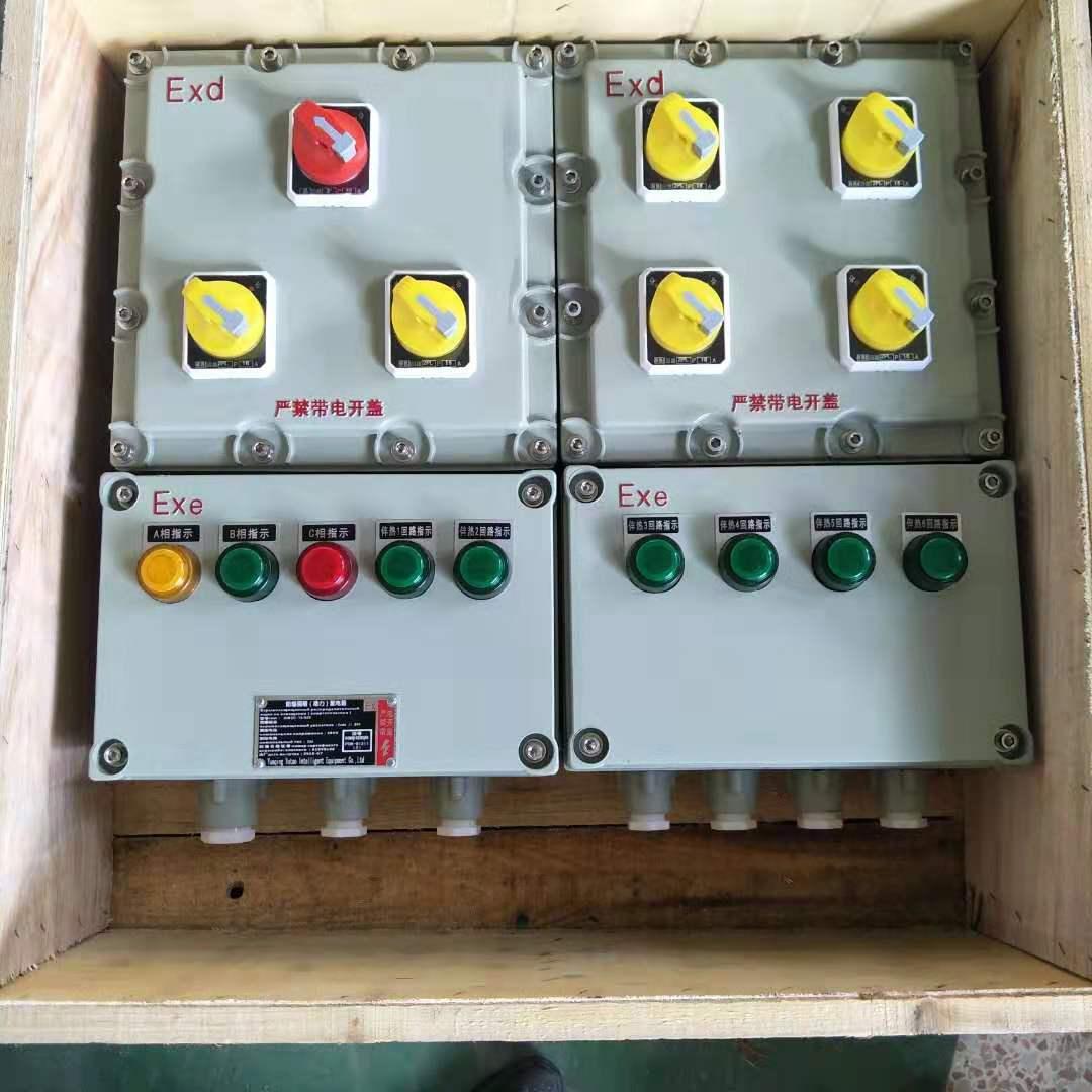 BXM51-6/32K100化学厂防爆照明配电箱塑壳总开