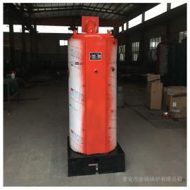 金锅全自动燃气热水锅炉供热采暖洗浴锅炉立式