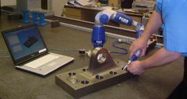 FARO美国法如关节臂三坐标机械工厂模具测量三坐标车间在线检测